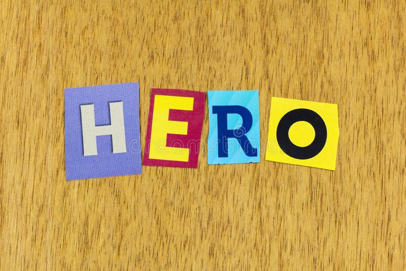 Héroe fuerte liderazgo éxito personas confiadas en sí mismas líder imagen de archivo