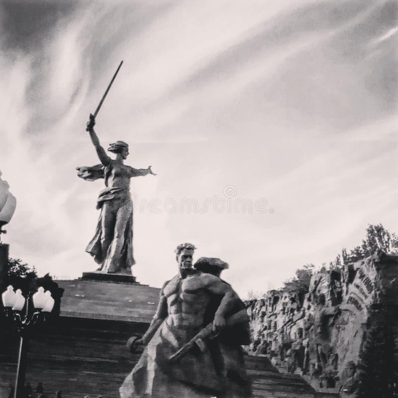 Héroe Stalingrad de la ciudad imagen de archivo