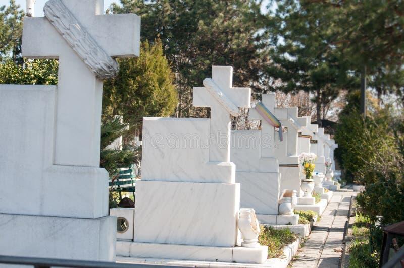 Héroes del cementerio de la revolución foto de archivo