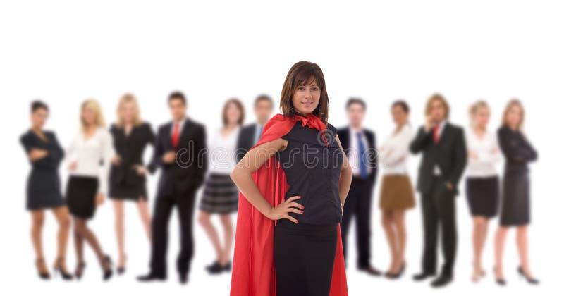 Héros d'affaires photo stock