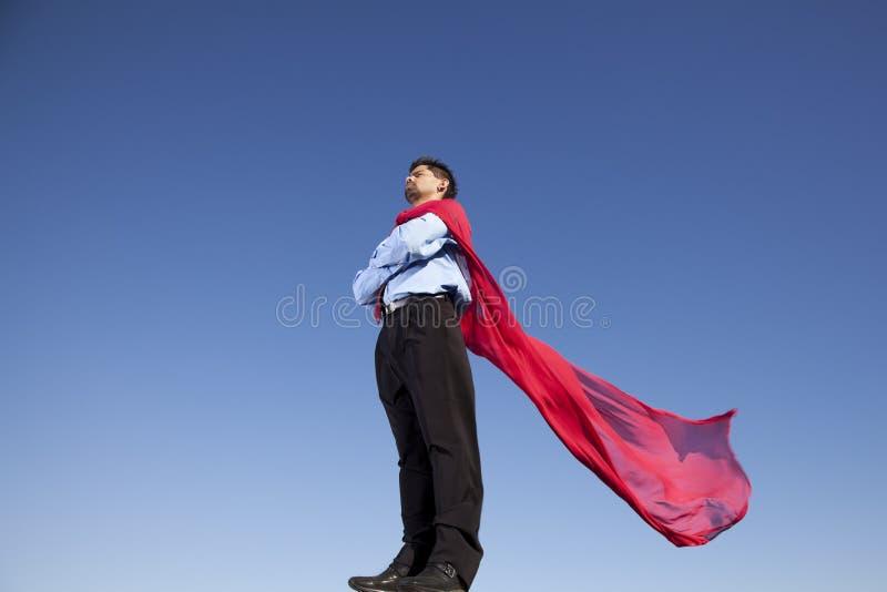Héros d'homme d'affaires images stock