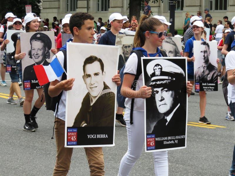 Héros de la deuxième guerre mondiale image libre de droits
