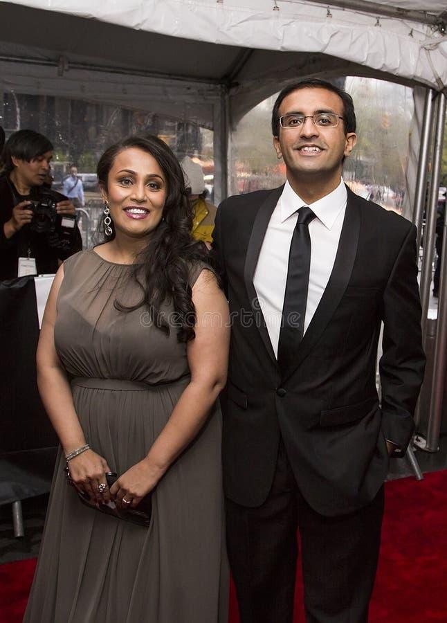 Héros Indien-américain Raj Panjabi de soins de santé photos stock