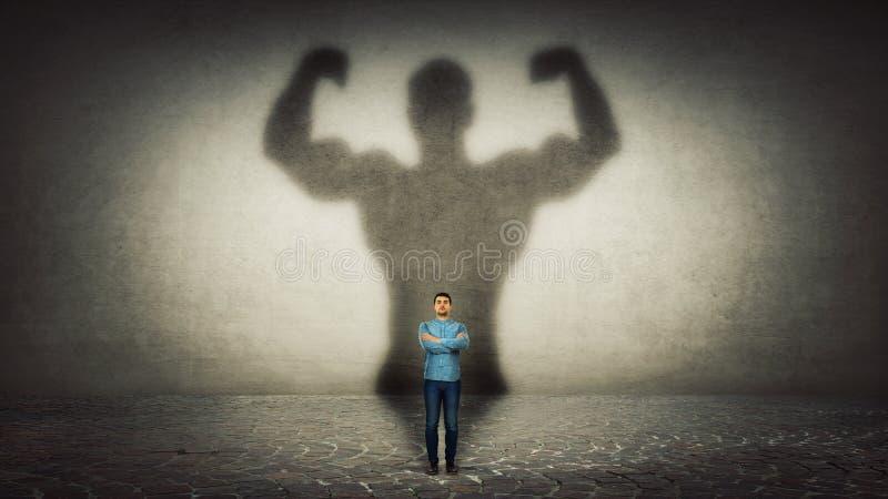 Héros puissant images libres de droits