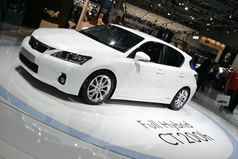 Híbrido de Lexus CT 200h fotografia de stock