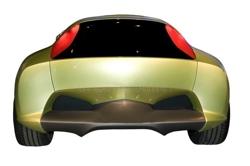 Híbrido do conceito de Honda, vista traseira imagens de stock royalty free