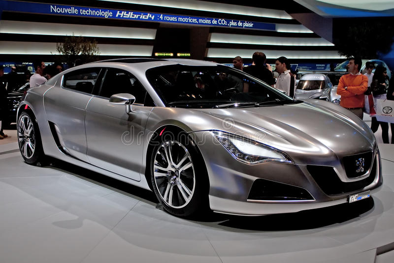 Download Híbrido RC4 de Peugeot imagem editorial. Imagem de emissão - 12808470