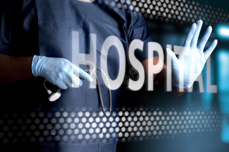 Hôpital images stock