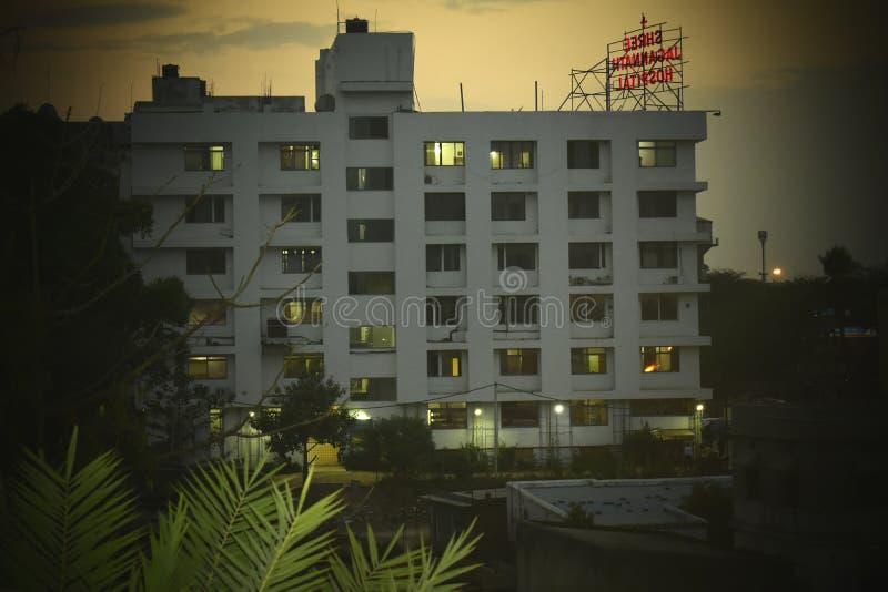 Hôpital de jagarnnath de Shree photo libre de droits