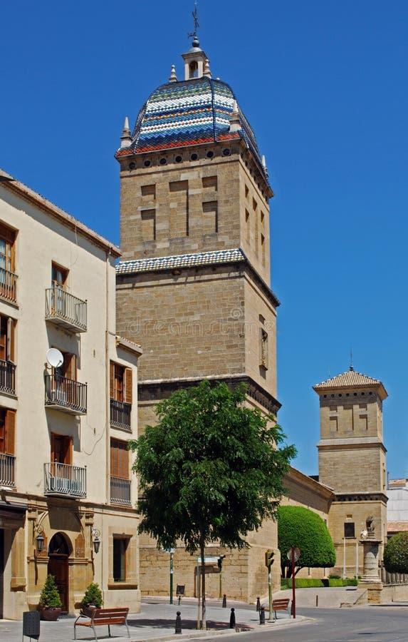 Hôpital de Santiago, Ubeda, Andalousie, Espagne. images libres de droits
