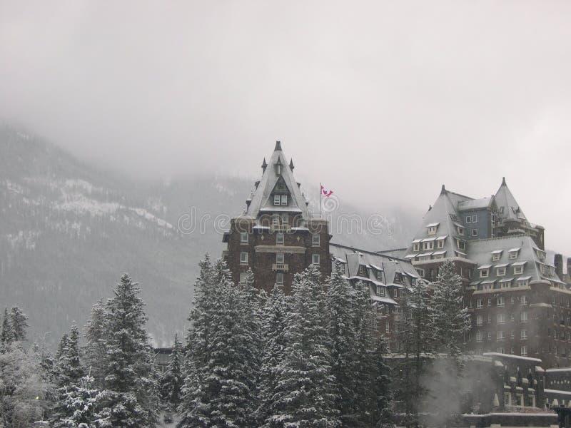 Hôtel 7 de Banff photos stock