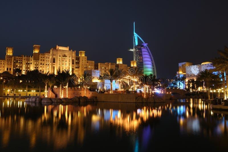 hôtel arabe de burj d'Al photo libre de droits