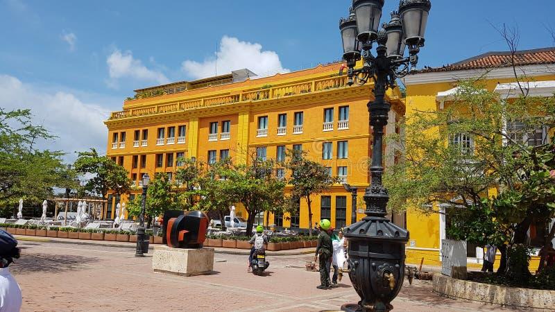Hôtel Charleston Santa Teresa : Carthagène, Colombie photographie stock libre de droits