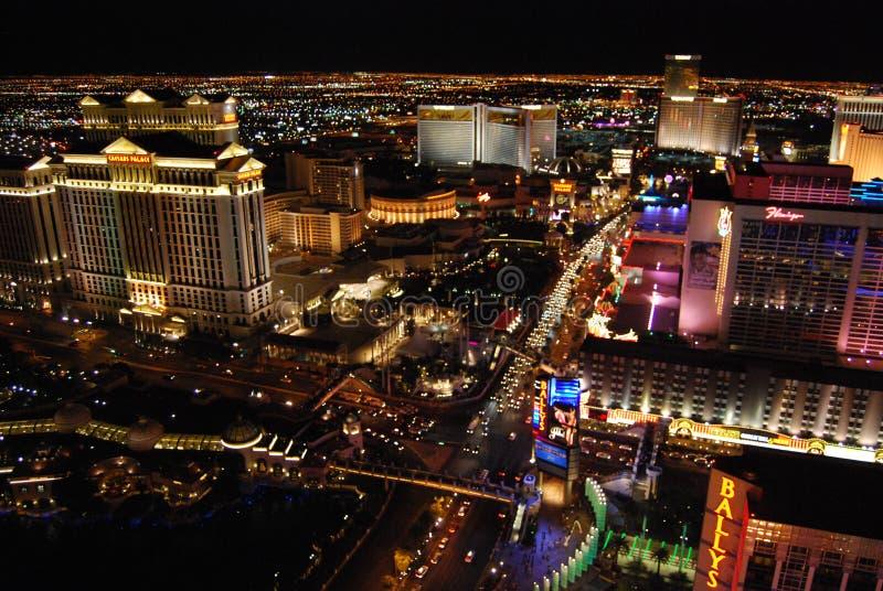 Hôtel de Bellagio et casino, la bande, station de vacances de Westgate Las Vegas et casino, Bellagio, accueil au signe de Las Veg photo libre de droits