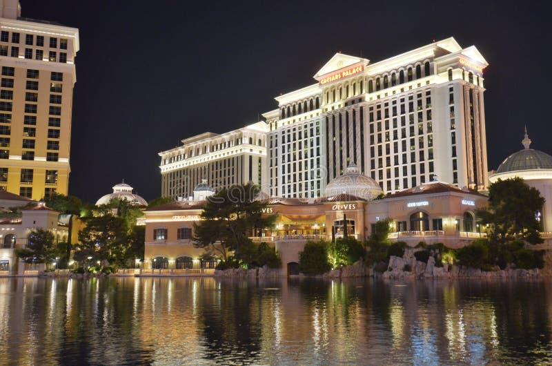 Hôtel de Bellagio et casino, hôtel de Bellagio et casino, réflexion, l'eau, ville, point de repère