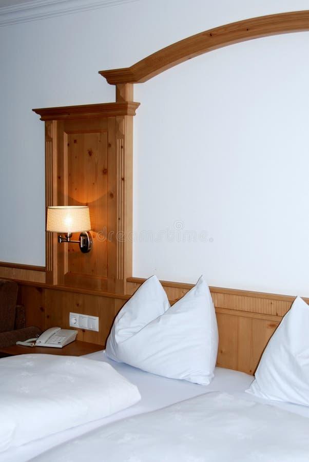 hôtel de chambre à coucher photo stock