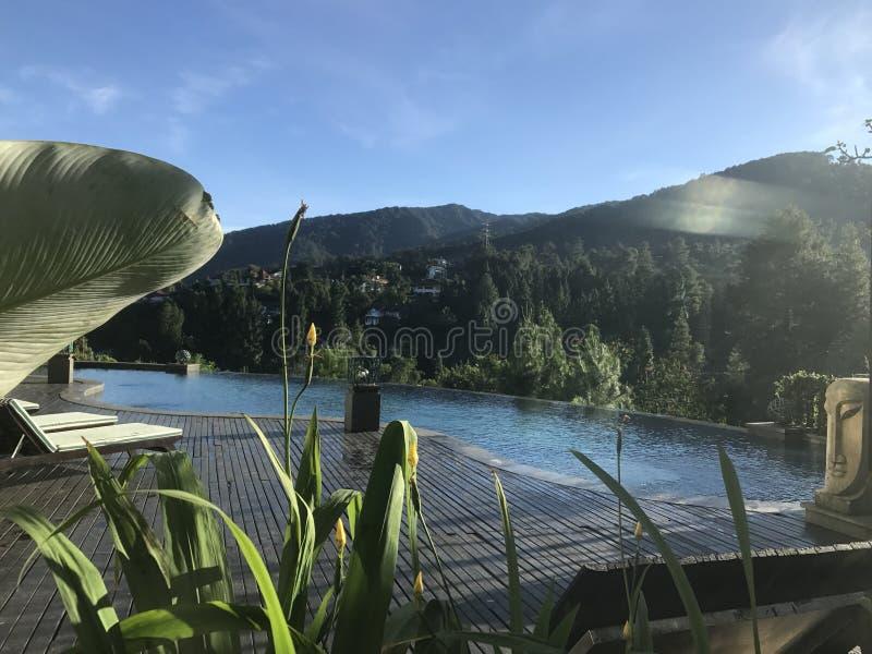 Hôtel de colline verte, images stock