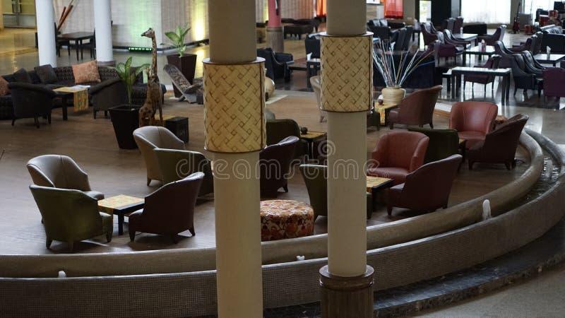 Hôtel de Le Méridien Ibom et station de vacances de golf photos stock