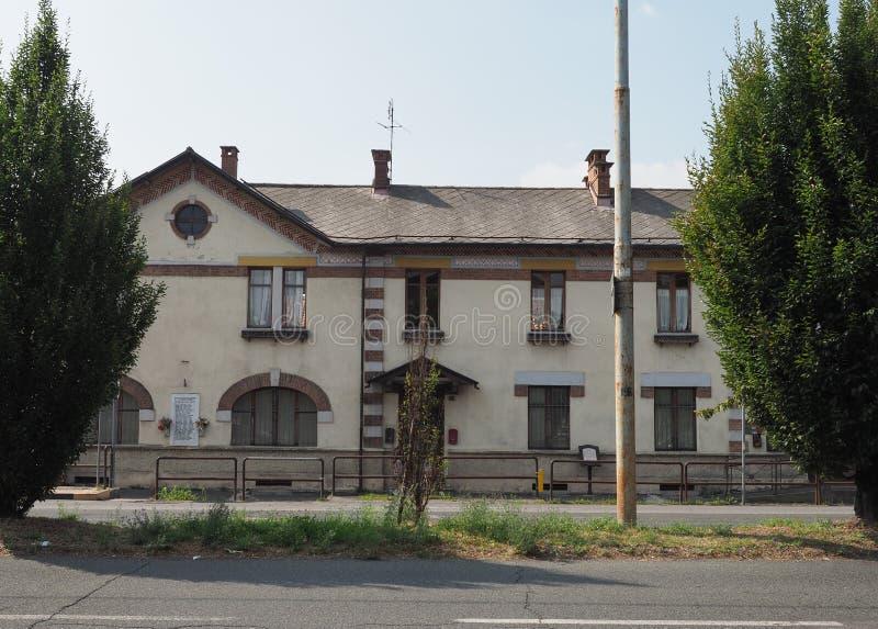 Hôtel de Leumann dans Collegno photos stock