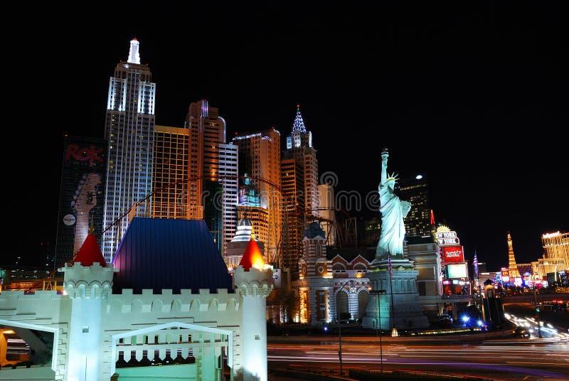 Hôtel de luxe à Las Vegas image libre de droits