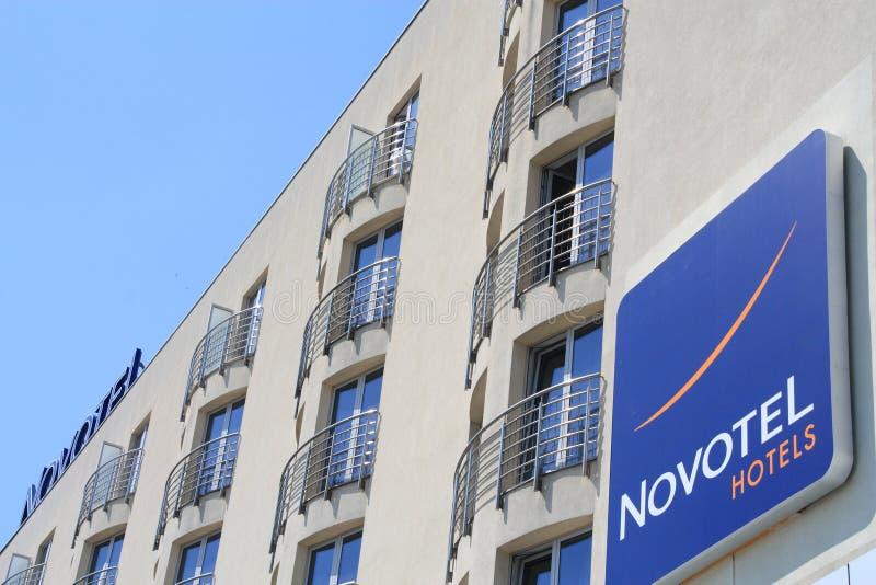 Hôtel de Novotel image libre de droits