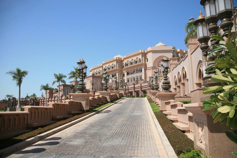 Hôtel de palais d'Emirats photo libre de droits