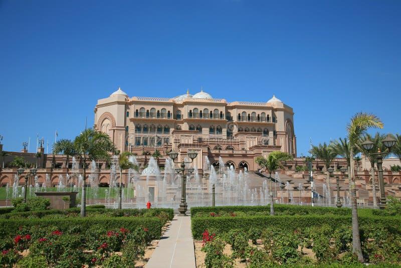 Hôtel de palais d'Emirats image stock