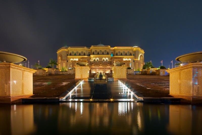 Hôtel de palais d'Emirats images libres de droits