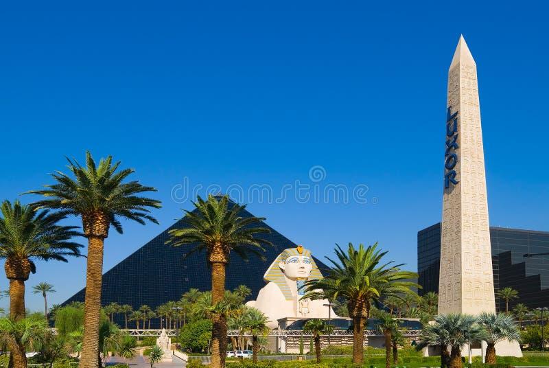 Hôtel de pyramide à Las Vegas photo stock