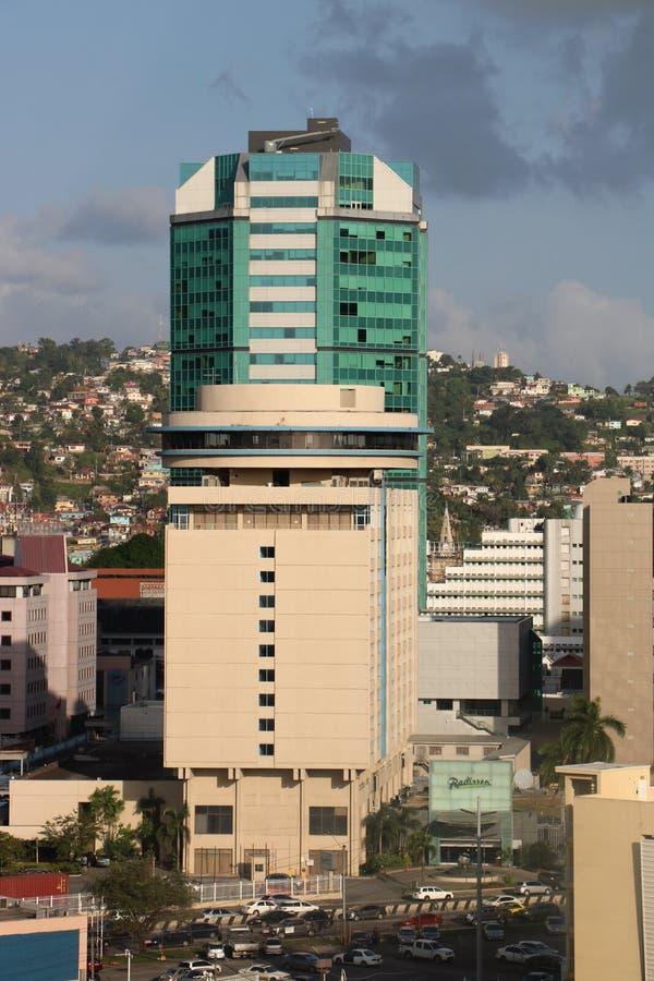 Hôtel de Radisson à Port-d'Espagne, Trinidad-et-Tobago photo libre de droits