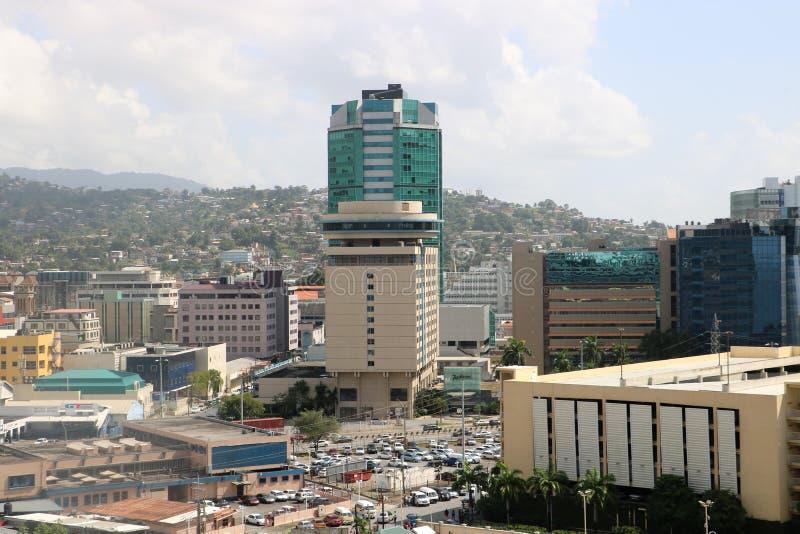 Hôtel de Radisson à Port-d'Espagne, Trinidad-et-Tobago photographie stock libre de droits