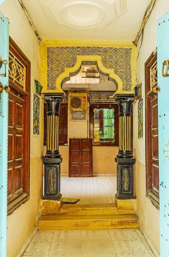 Hôtel de touristes authentique en Médina, Sousse, Tunisie images stock