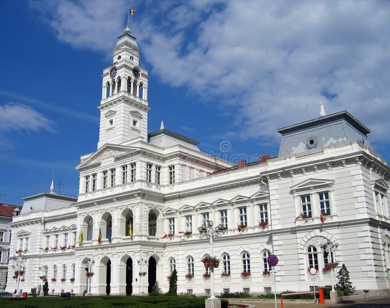 Hôtel de ville - Arad - Roumanie image libre de droits
