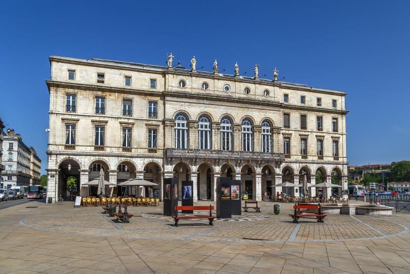 Hôtel de ville de Bayonne, France images stock