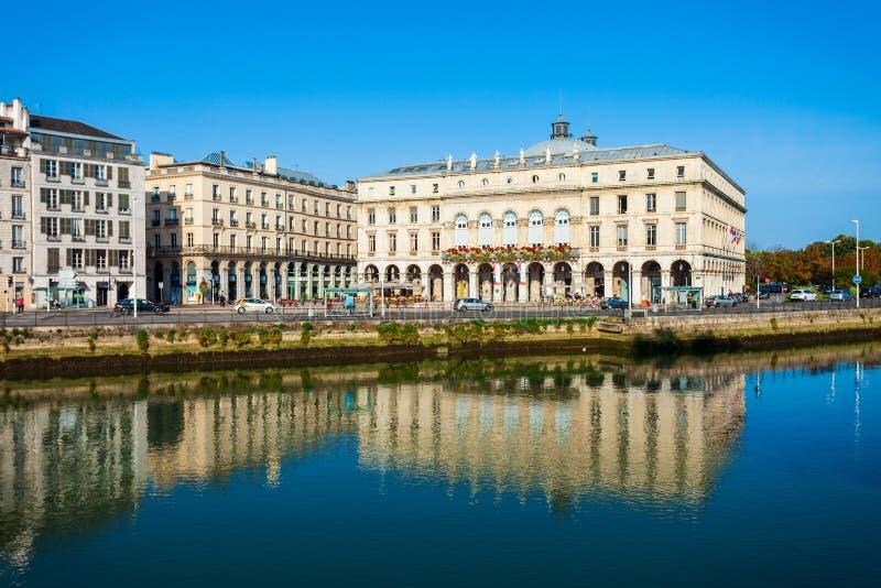 Hôtel de Ville de Bayonne Mairie, France photographie stock libre de droits