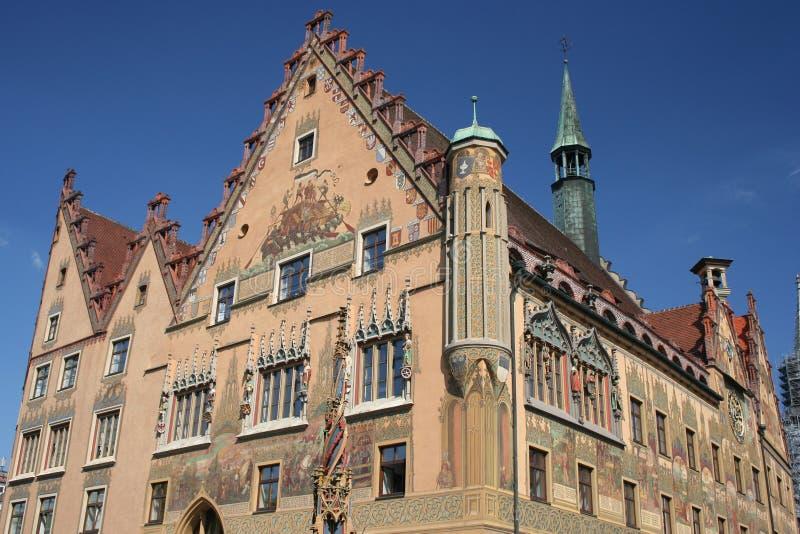 Hôtel de ville d'Ulm, Allemagne photo stock
