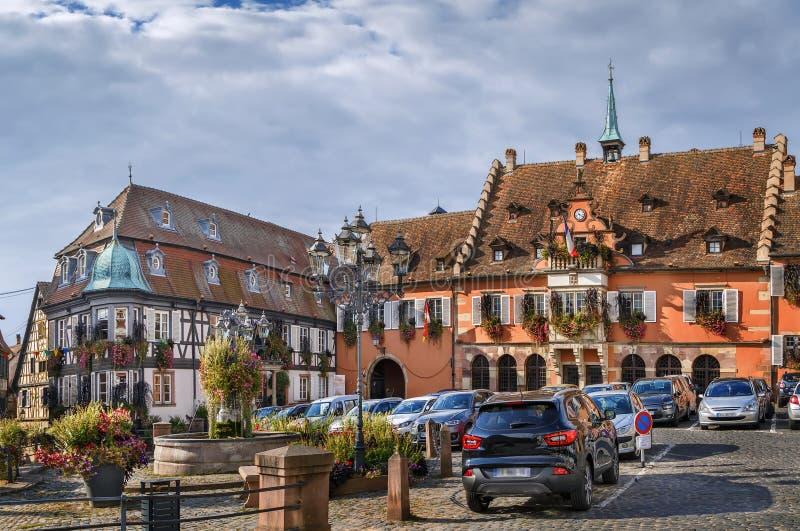 Hôtel de ville dans Barr, Alsace, France image stock