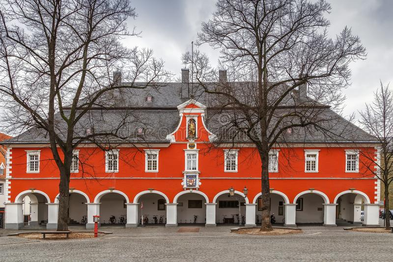 Hôtel de ville dans Soest, Allemagne images stock
