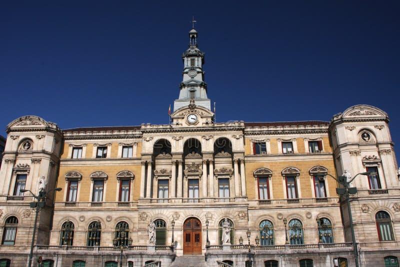 Hôtel de ville de Bilbao photos stock