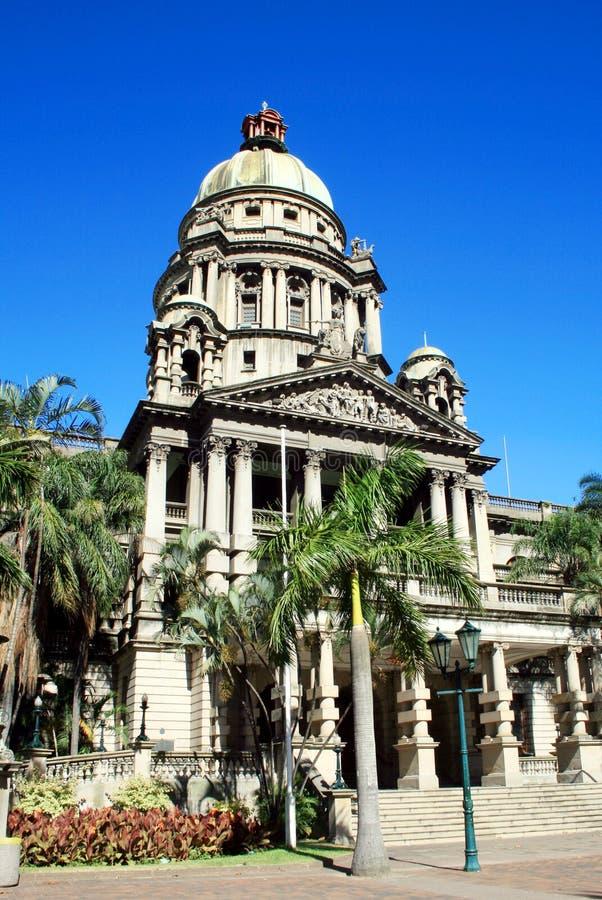 Hôtel de ville de Durban image libre de droits