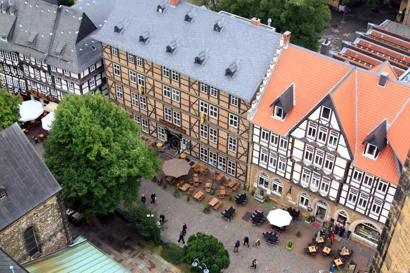 Hôtel de ville de Goslar photographie stock libre de droits