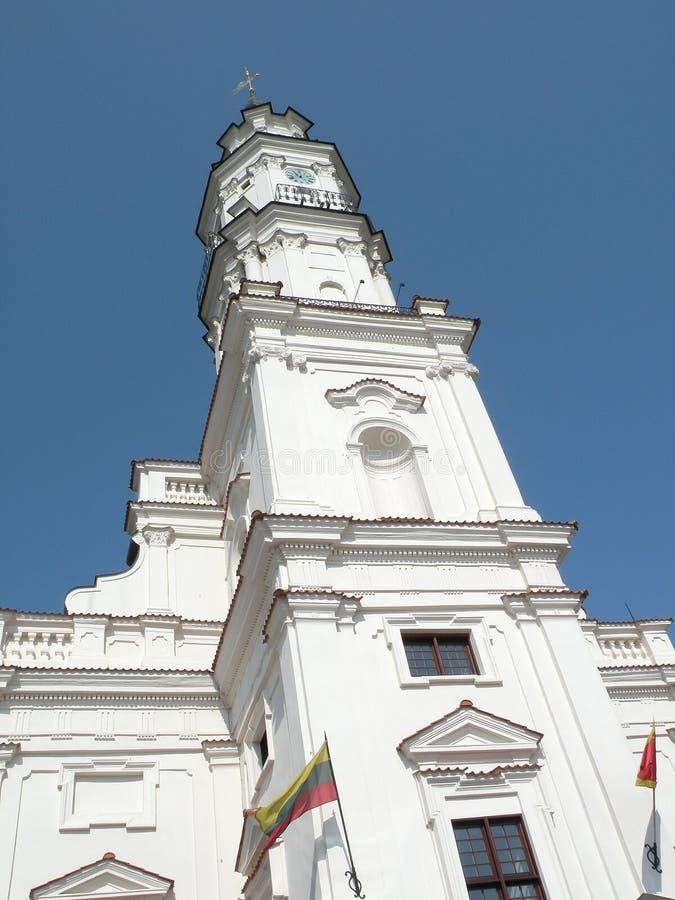 Hôtel de ville de Kaunas image stock
