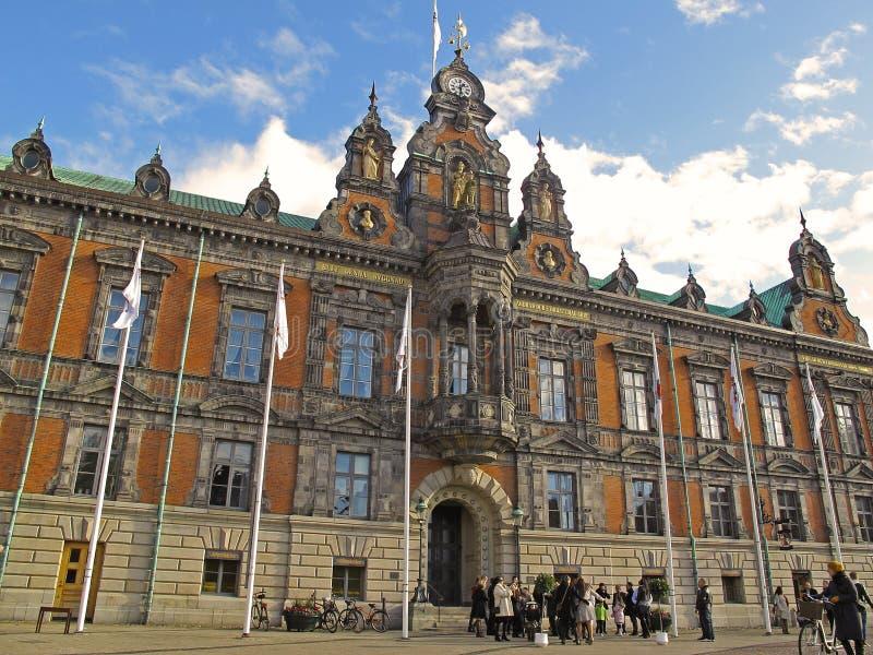 Hôtel de ville de Malmö image libre de droits