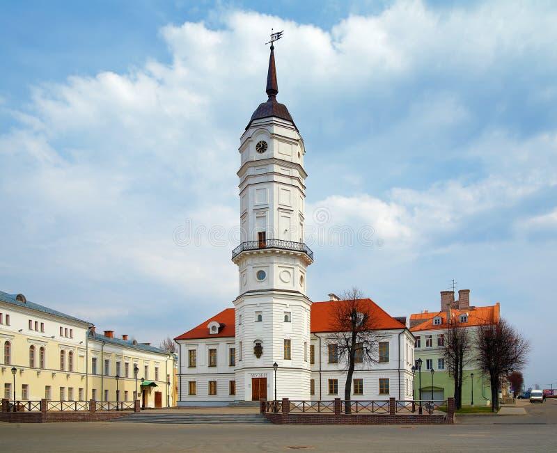 Hôtel de ville de Mogilev, Belarus photos stock