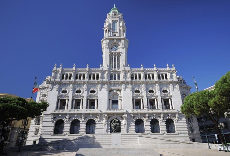 Hôtel de ville de Porto photos libres de droits