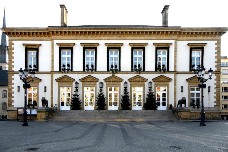 Hôtel de ville du luxembourgeois images libres de droits