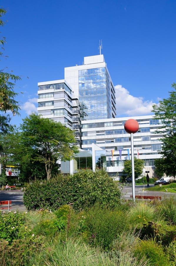 Hôtel de ville - Erlangen, Allemagne photographie stock libre de droits