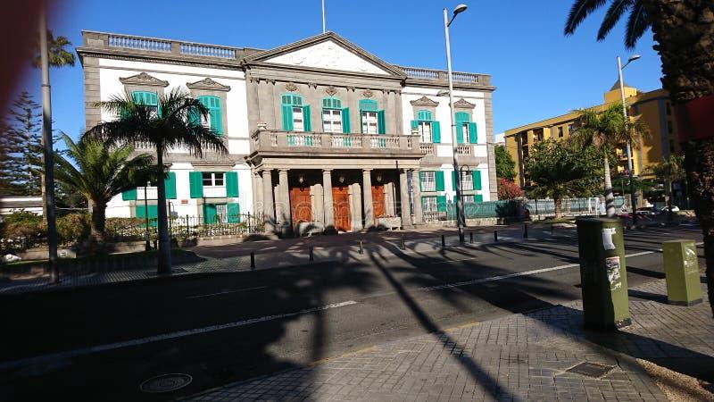 Hôtel de ville espagnol photographie stock libre de droits