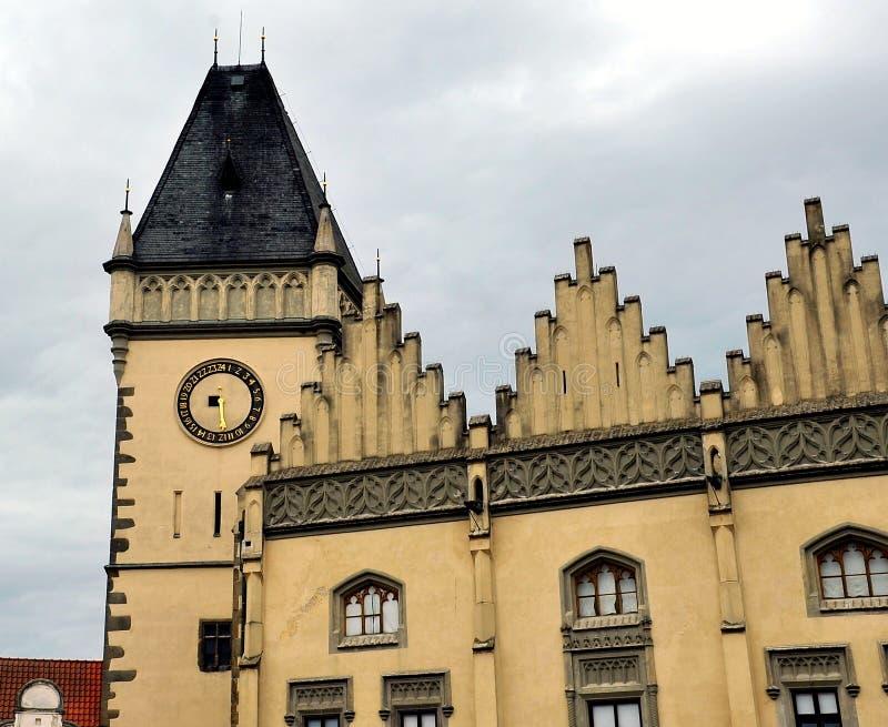 Hôtel de ville de la ville du Thabor, République Tchèque images stock