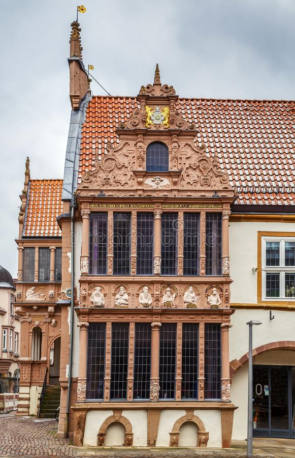 Hôtel de ville de Lemgo, Allemagne photo stock